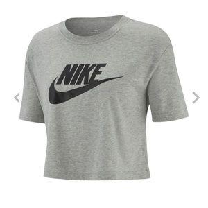 Nike crop top-large